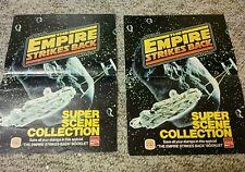 STAR WARS ESB 1980 BURGER KING SUPER SCENE COLLECTION LOT OF 2 RARE
