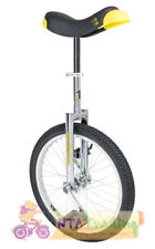 QU-AX Einrad 20 Zoll Luxus chrom mit Einradständer NEU 1002