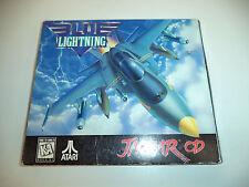 Authentic BLUE LIGHTNING (Atari Jaguar CD) EMPTY CASE No Game or Manual
