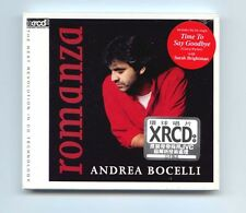 """Andrea Bocelli - Romanza"" JVC Made in Japan XRCD XRCD2 Audiophile CD New Sealed"