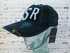 7fac04d807179 G-STAR RAW Baseball Cap Mens HEAVY DESTROY Hat Dists Denim Size M Caps BNWT