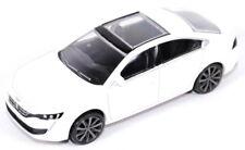 """Peugeot 508 3"""" Model Car New Genuine 18MITR901 WHITE"""
