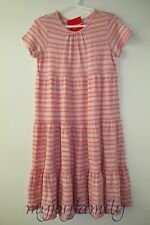 HANNA ANDERSSON Girl Love Twirl Pima Cotton Dress Ballet Pink 150 12 NWT