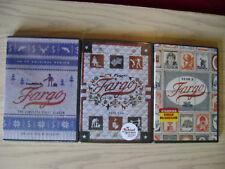Fargo Season 1, 2 & 3 Dvd Complete Tv Series New +Bonus Features.(3,4 Disc Sets)