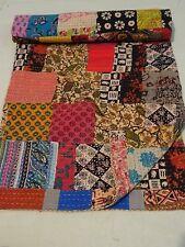 Kantha patchwork cotton indian handmade reversible Antique vintage bedspreads