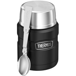 Thermos 16 oz Stainless King Vacuum Insulated Stainless Steel Food Jar Container