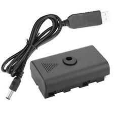 Dummy Battery Coupler for Sony F550 F570 F770 F750 F970 F990 with USB Cable RH