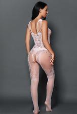 SEX Intimo Calze Body Lingerie Vestito Rete Reggicalze Giarrettiera Babydoll 6-12