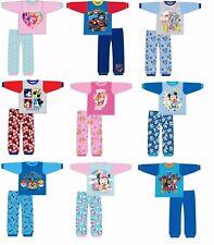 Boys Girls Baby Toddlers PAW Patrol Minnie Mickey Mouse Pyjamas PJs 6-24 Months
