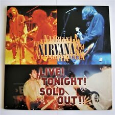 NIRVANA Live Tonight Sold Out Laserdisc LD 01-Disc  Kurt Cobain