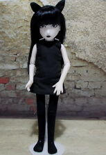 Emily The Strange Jointed Doll Ashton Drake Galleries 11""