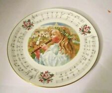 """Royal Doulton"" 'Little Town Of Bethlehem' 1985 Christmas Carol Collector Plate"