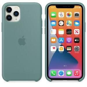 Genuine / Official Apple iPhone 11 Pro Silicone Case - Cactus Green - New