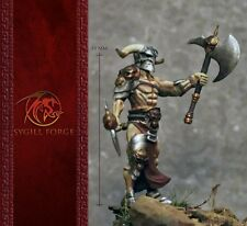 Sygill FORGE Miniatures BARBARIAN Hero