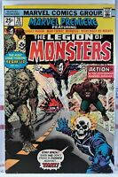 🔥 MARVEL PREMIERE #28 🔑 1st LEGION OF MONSTERS Ghost Rider MORBIUS Man-Thing