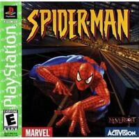 Spider-Man (Greatest Hits) - PlayStation 1 (PS1) Game *CLEAN VG