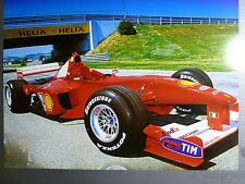 2000 Ferrari F1 - 2000 Formula 1 Race Car Print, Picture, Poster, RARE Awesome