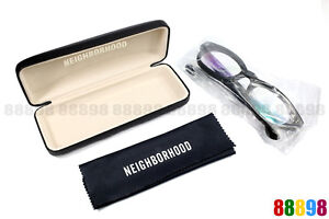 NEIGHBORHOOD x EFFECTOR TRAMP Black Matte Glasses NBHD Hand Made In Japan
