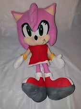 "Sega AMY ROSE Sonic Hedgehog 13"" Plush Doll Toy Network"