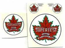 Minnitoys Supertest Canada's Finest Replacement Decal Set