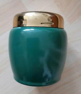 Vintage Zigarettenbehälter / Aufbewahrungsbox/ Tischbehälter aus Metall