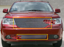 Custom Fits 09-10 Dodge Journey Billet Grill Combo