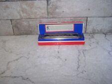 Vintage Germany Hohner Model 364 12 Hole Key C Marine Band Harmonica w/ Box