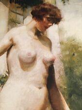 Charles Watelet / Belgian Nude 1990s Poster / Printed In Switzerland