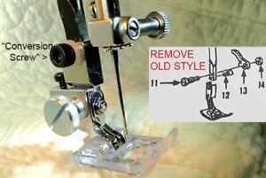 Kenmore Super High Conversion Kit to regular pressure feet
