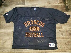 Denver Broncos Champion mesh CROP practice jersey size 48 XL Elway