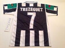 Juventus David Trezeguet #7 Home Jersey Size Small TELE + CiaoWeb