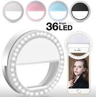 Selfie Lichtring Ringleuchte Handy Tablet Smartphone Ringlicht Strahler Licht