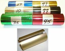 "Kingsley Howard Hot Stamp Stamping Foil - 6 Roll pk - 3"" x 95' + Canister"