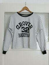 Shirt, Gr.M, schwarz/weiß gestreift! Neuwertig!