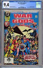 War of the Gods #1 CGC 9.4 NM Wp DC Comics 1991 George Perez Story Cover & Art