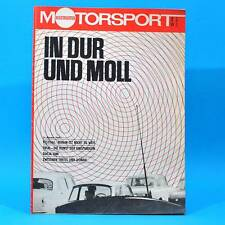 DDR Illustrierter Motorsport IMS 2 1973 Dacia 1300 Trial Fiat 132 Formel 1 X
