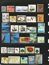 SINGAPORE HIGHER VALUE USED LARGE STAMPS COLLECTION MIXTURE WITH FLAW LOT 117