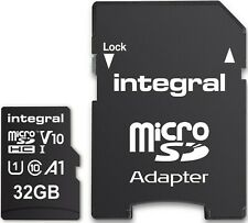 32GB Micro SD Card MEMORY TF U1 For Mobile,Tablet,Camera,Dash Cam,Sat Nav 100MBs