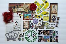 Wizard of Oz Custom Chipboard Mini Book Album DIY Kit Scrapbook