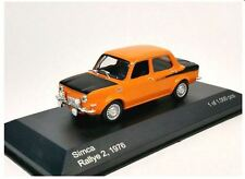 Simca 1000 Rallye 2 - 1976 - Orange - WhiteBox