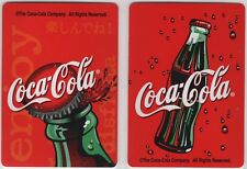 2 swap playing cards; ad; Coca Cola