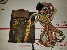 Space Invaders arcade machine wire harness and transformer