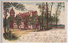 (113085) AK Hannover, Lister Turm, Litho 1898