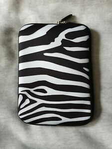 "7"" Zebra Tablet Case / Sleeve With Pocket Brand New Excellent Quality"