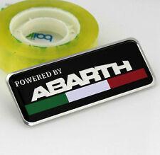Auto Car Alu ABARTH Aufkleber Emblem Fenders Schriftzug Plakette für Skorpion