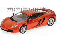 BBURAGO 18-21074 MCLAREN MP4-12C 1/24 DIECAST MODEL CAR ORANGE