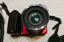 Digital Camera Nikon Coolpix L810 Red.Almost new. Used 4 times.Optical zoom 26x