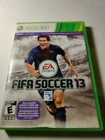 Fifa Soccer 13 XBOX 360 Sports (Video Game) missing manual