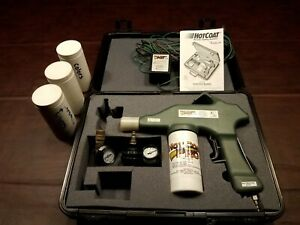 Eastwood Hot Coat Pro 1100 powder Coating Gun, many extras.