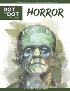 Horror - Dot to Dot Puzzle (Extreme Dot Puzzles with over 15000 dots): Extreme
